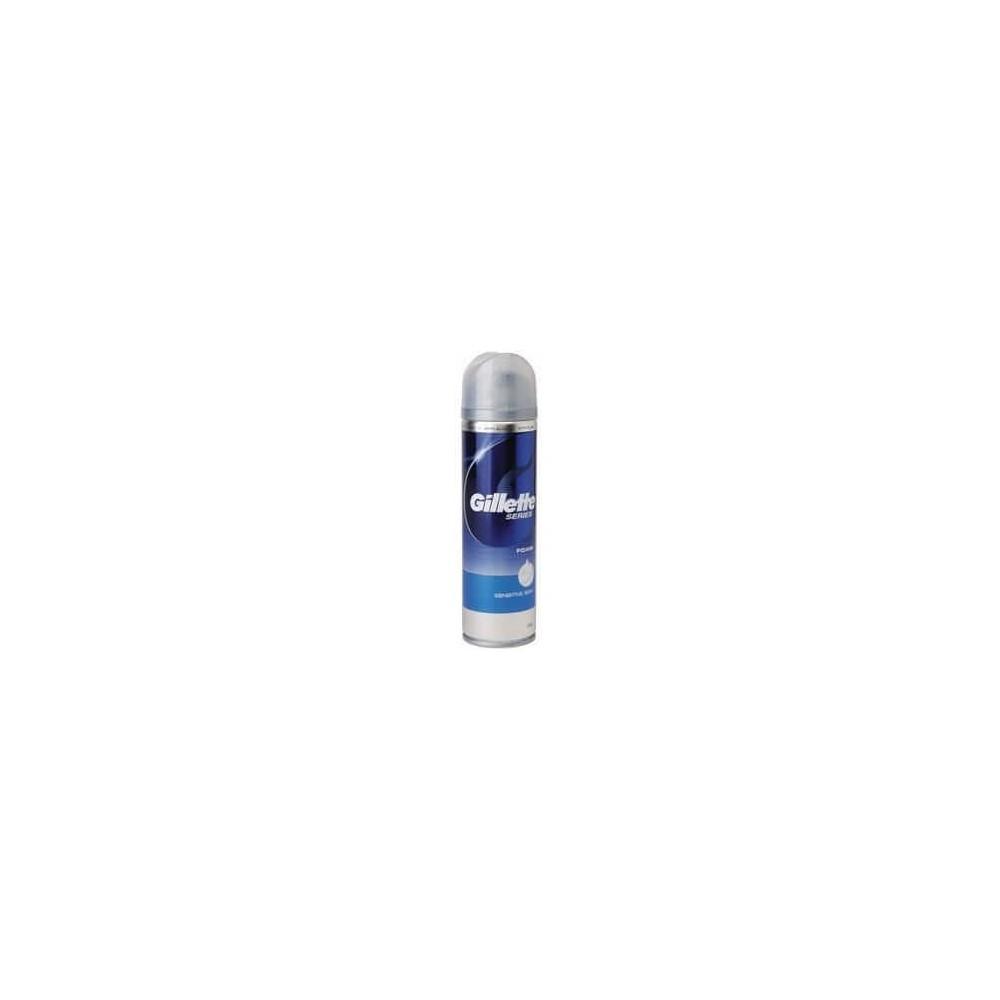 Gillette Series Pena na holenie pre citlivú pokožku 250ml