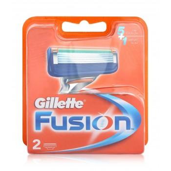 GILLETTE - fusion manual náhradné hlavice 2 ks Gillette - 1
