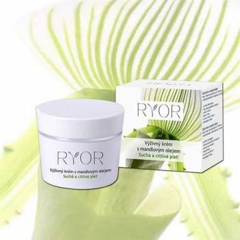 RYOR - DRY & SENSITIVE výživný krém s mandľovým olejom 50 ml RYOR - 1