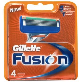 GILLETTE - fusion manual náhradné hlavice 4 ks Gillette - 1