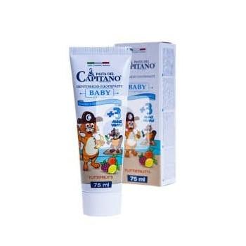 PASTA del CAPITANO - zubná pasta BABY 3+ Tuttifrutti 75 ml pasta del capitano - 1