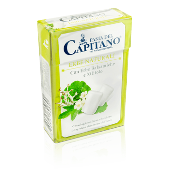 PASTA del CAPITANO - žuvačky s príchuťou liečivých byliniek box 30 g /21 ks/ pasta del capitano - 1