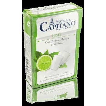 PASTA del CAPITANO - žuvačky s príchuťou limetky box 30 g /21 ks/ pasta del capitano - 1