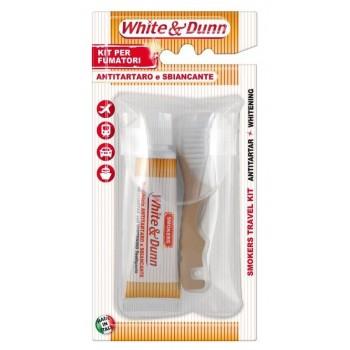Zubná kefka+zubná pasta 25 ml pre fajčiarov cestovné balenie SilverCare - 1