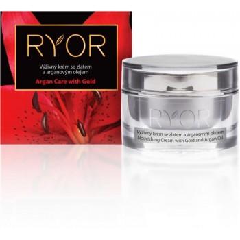 RYOR - ARGAN CARE WITH GOLD výživný krém so zlatom a arganovým olejom 50 ml RYOR - 1