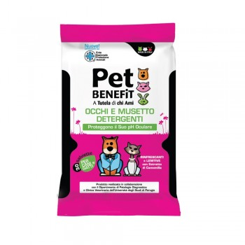 PET BENEFIT - čistiace utierky na hygienu uší psov 30 ks Pet Benefit - 1