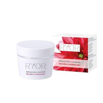 RYOR - NORMAL TO COMBINATION výživný krém s ceramidmi 50 ml RYOR - 1